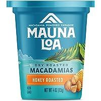 Mauna Loa Premium Hawaiian Roasted Macadamia Nuts, Honey Roasted Flavor, 4 Oz Bag (Pack of 1)