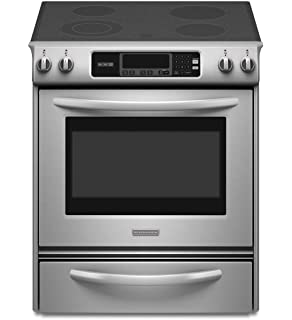 Lovely Kitchenaid KESK901SSS Thermal Oven Glass Cooktop Front Control Knobs  Architect Series II