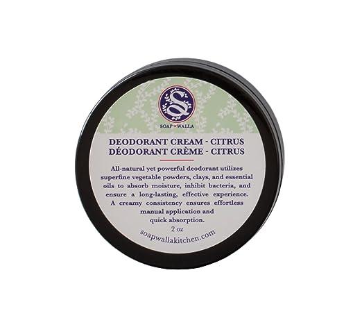 Soapwalla - Organic / Vegan Deodorant Cream (Citrus)