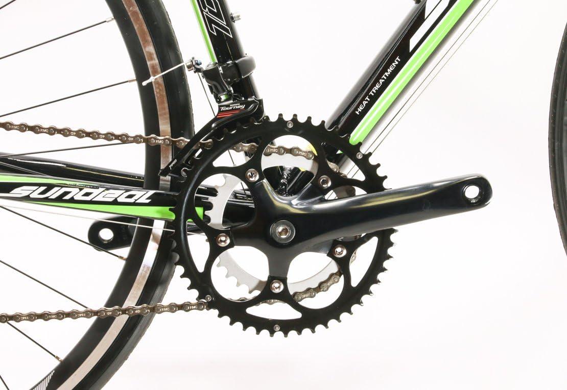 Sundeal 50cm R7 700c Road Bike 6061 Alloy Frame Shimano 2 x 7s MSRP $499 New