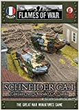 French - 1:100 Schneider Ca.1 Tank Model Kit