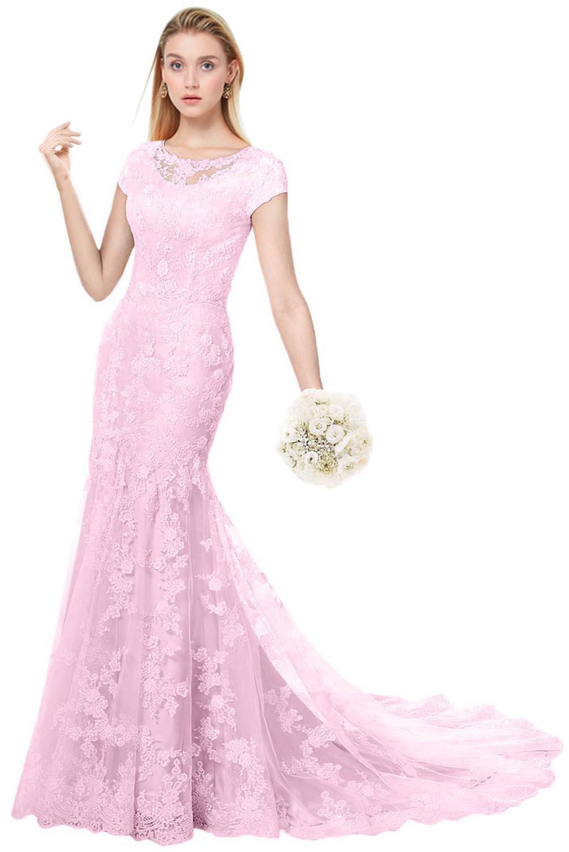 Modest Wedding Dresses with Sleeves: Amazon.com