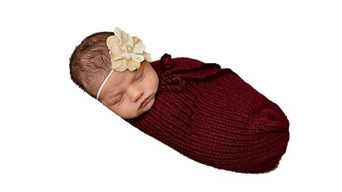 Matissa Baby Kleinkind Neugeborenen Hand Gestrickt Häkeln