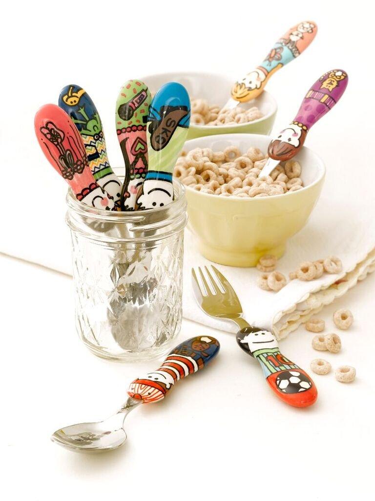 Eat4Fun Kiddos Collection Kids Spoon Elle