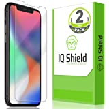 IQ Shield Screen Protector Compatible with Apple iPhone 11 Pro (5.8 inch)(Max Coverage)(2-Pack) LiquidSkin Anti-Bubble Clear