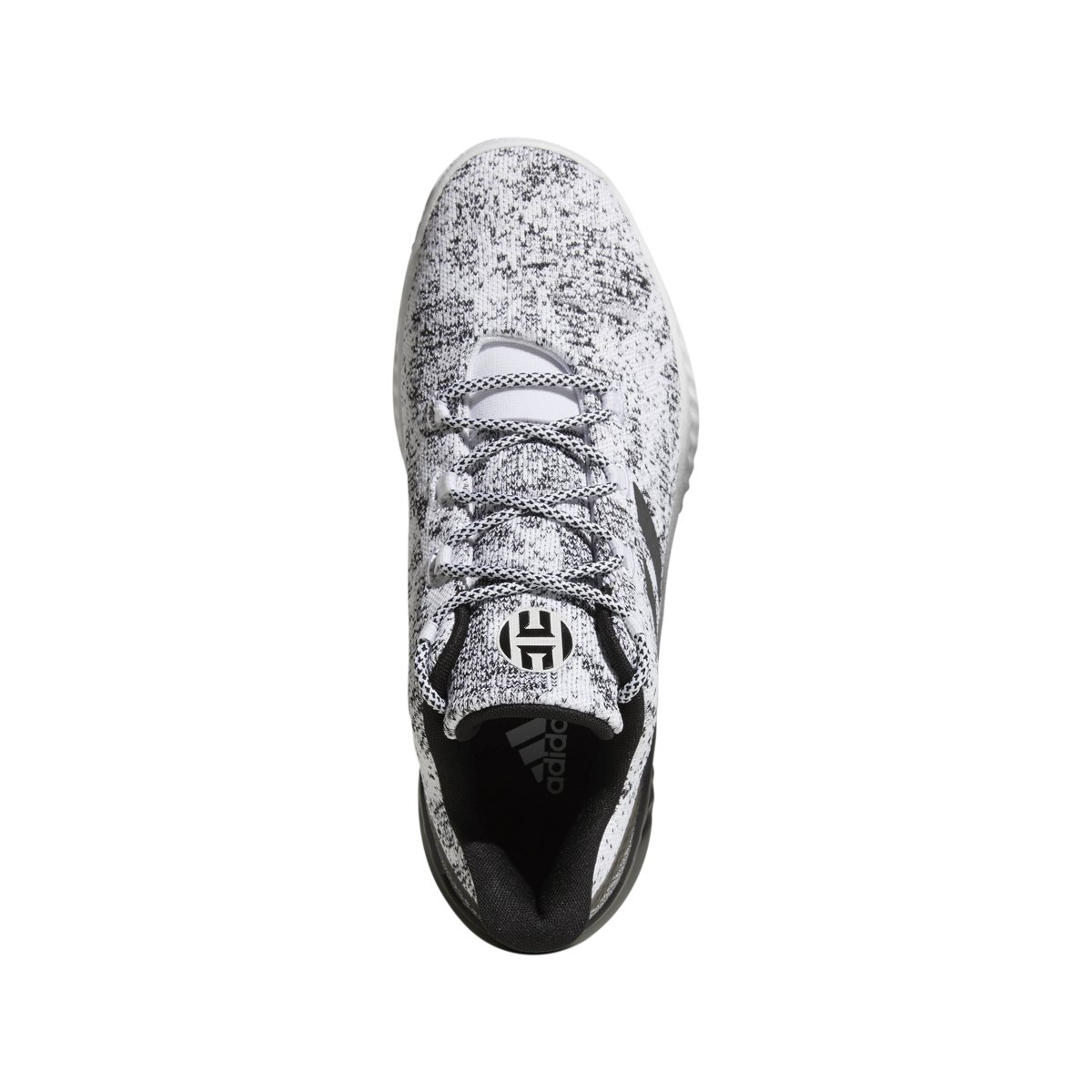 adidas B/E X Shoe Basketball Homme Blanc/Noir