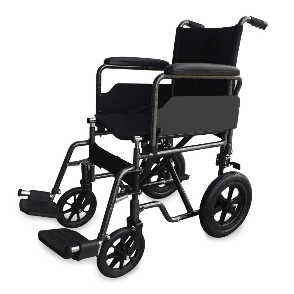silla de ruedas estrecha estable