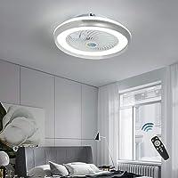 CAGYMJ Ventilador De Techo con Iluminación De Techo LED,Luz Velocidad del Viento…