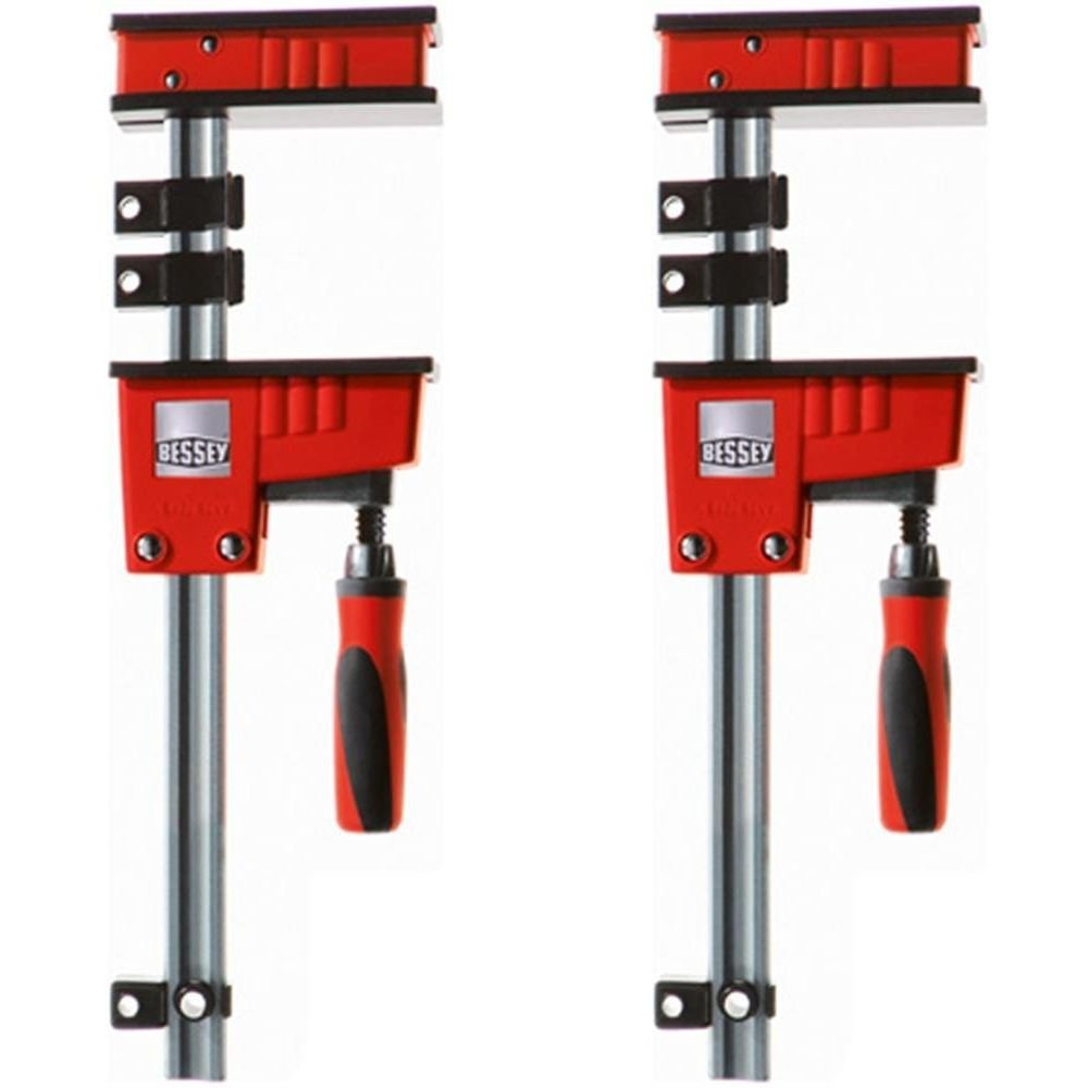 Bessey K-Body REVO 60'' Fixed Jaw Parallel Woodworking Cabinet Clamp (SET OF TWO) by Bessey