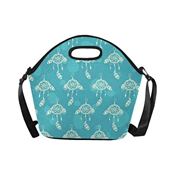 10a2323ec838 Amazon.com: InterestPrint Large Insulated Neoprene Lunch Bag ...