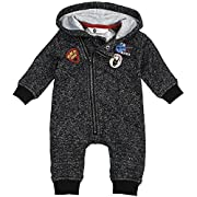 Baby Boy Hooded Romper Outfit, Breathable Materials and Strong Detailed Stitching to Last Through Multiple Washes.