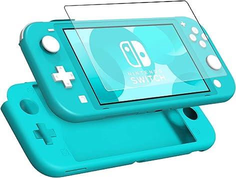 KZIOACSH Funda para Nintendo Switch Lite + Protector de Pantalla ...