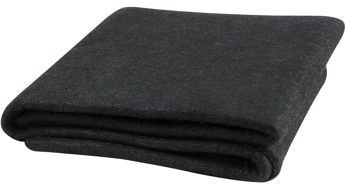 Steiner 316-4X6 Velvet Shield 16 oz Black Carbonized Fiber Welding Blanket, 4' x 6' 4' x 6' ERB