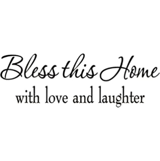 Amazon.com: Family Wall Quotes Decals Stickers Home Decor Hanging ...