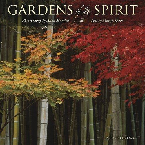 gardens of the spirit 2009 wall calendar