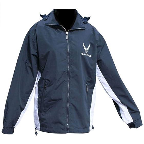 Mitchell Proffitt Men's US Air Force Windbreaker Jacket at Amazon ...