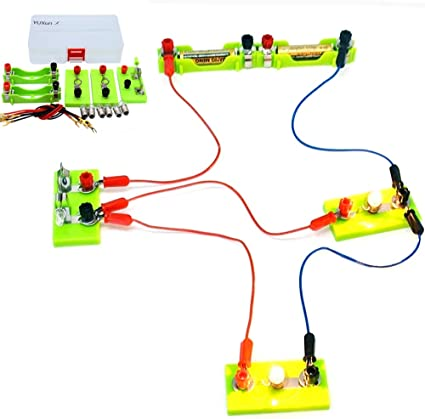 Kids Basic Circuit Electricity Learning Kit Physics Educational Toys For Childre