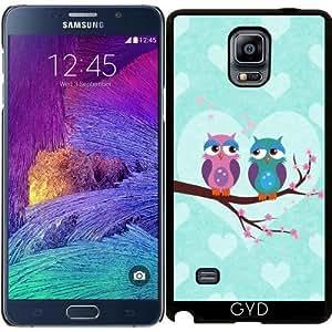 Funda para Samsung Galaxy Note 4 (N910) - Búhos Amor by eDrawings38