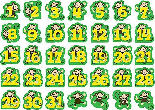 - Creative Teaching Press Monkeys Calendar Days (7078) by Creative Teaching Press