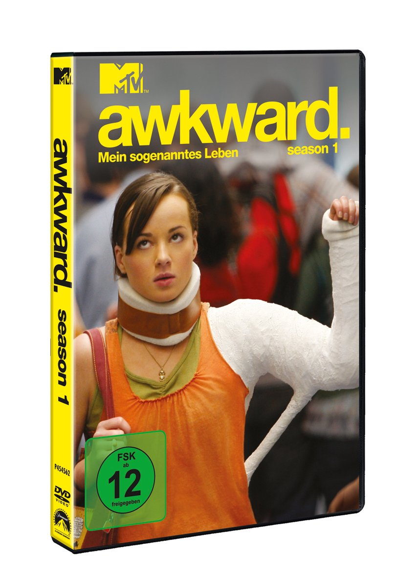 Awkward Season 1 2 Dvds Amazonde Ashley Rickards