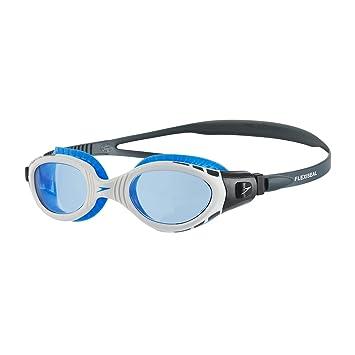 2387d0d7c Speedo Futura Biofuse Flexiseal Gafas de Natación, Unisex Adulto, Gris  óxido/Blanco/Azul, Talla Única: Amazon.es: Deportes y aire libre