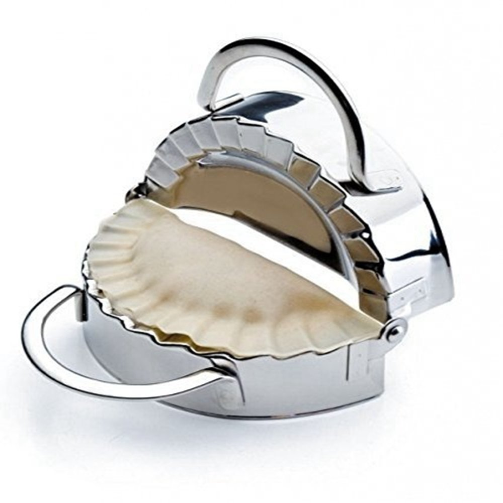 Tools stainless steel wraper dough cutter pie ravioli dumpling mould - Amazon Com Stainless Steel Dumpling Maker Wraper Dough Cutter Pie Ravioli Dumpling Mould Kitchen Accessories Kitchen Dining