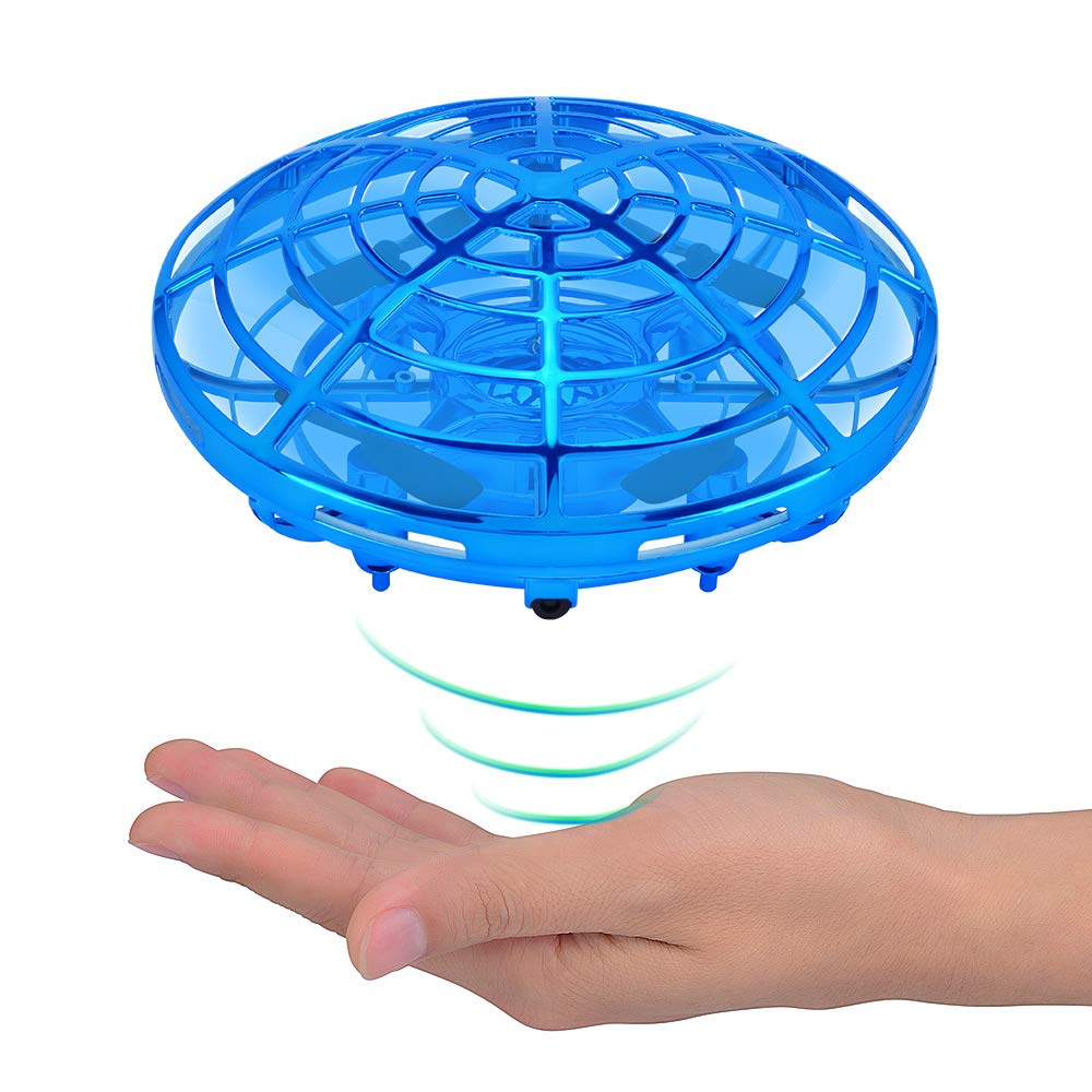 ACECHUM Kid and Boy Toys, Hand-Controlled Flying Ball, Interactive Infrared Induction Helicopter Ball with 360° Rotating and Shinning LED Lights, Flying Toy for Boys Girls and Kids Gifts by ACECHUM