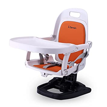 XKISS Comfort Folding Snack Booster Seat High Chair,Highchairs For Baby,Booster  Seat