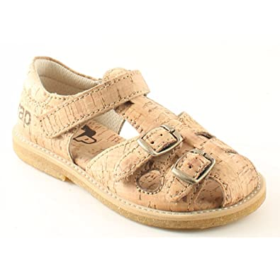 aa59d52a16c Cork Sandals, 2 Buckles and Velcro - Vegetarian/Vegan Sandals - Kids Sandals  (