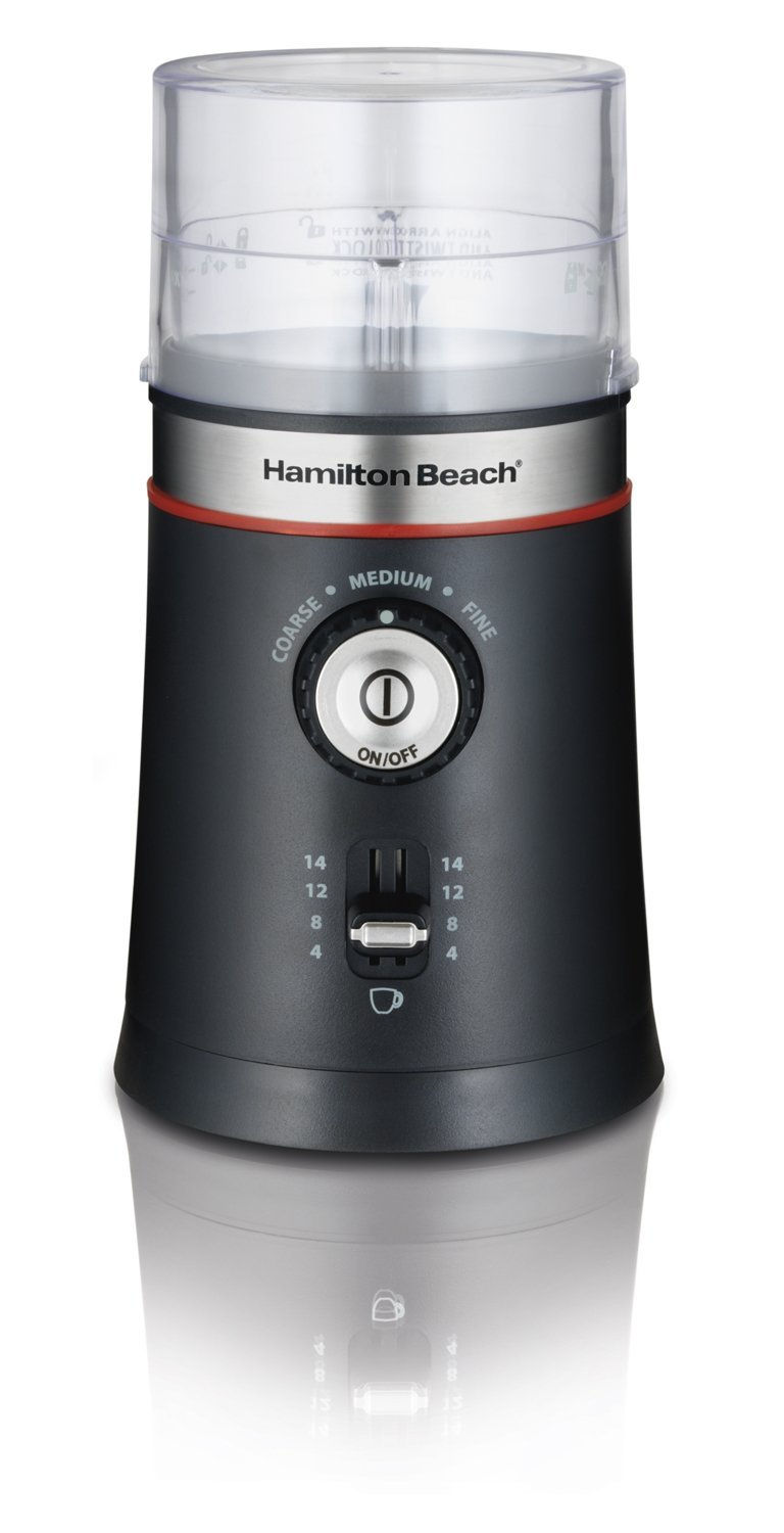 Hamilton Beach Electric Coffee Grinder, Black