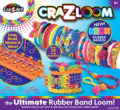Super Loom - Cra-Z-Art Cra-Z-Loom Bracelet Maker Kit