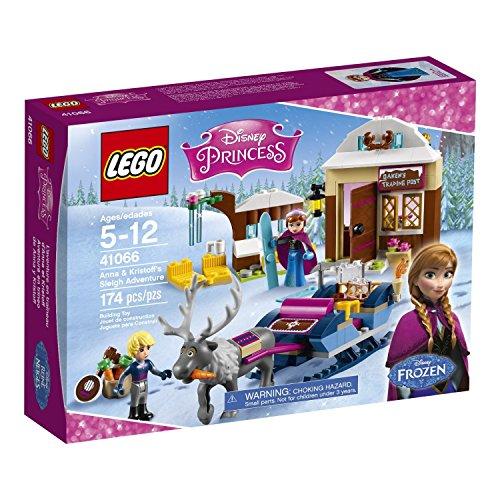 LEGO-Disney-Anna-and-Kristoffs-Sleigh-Adventure-41066-Building-Kit