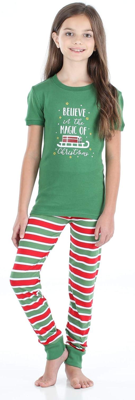 Snowflakes Santa Sleepyheads Holiday Family Matching Pajama PJ Sets Christmas