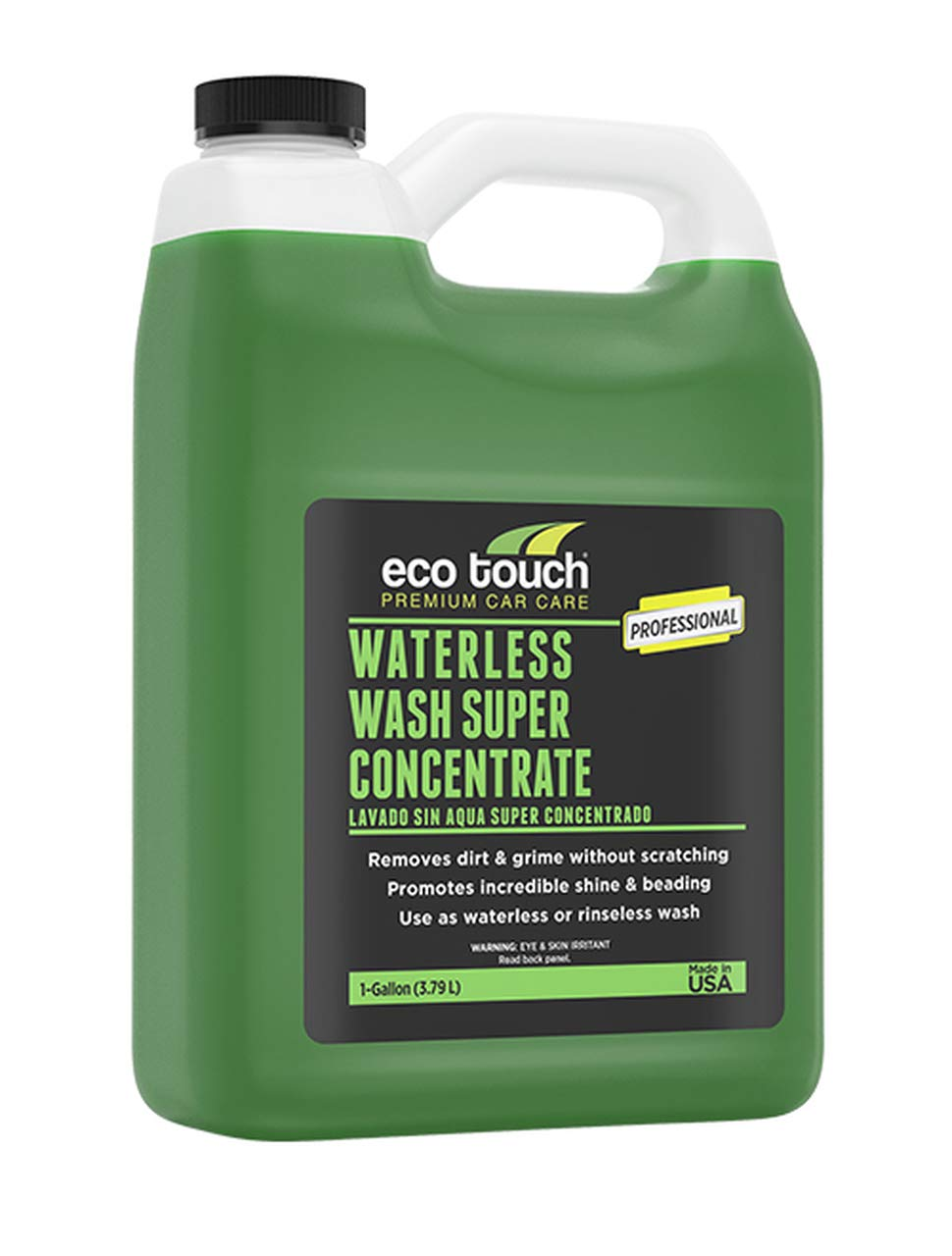 Eco Touch Waterless Wash Super Concentrate 1 Gallon