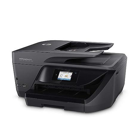 HP OfficeJet 6970 Aio- Impresora de tinta multifunción (Impresión, copia, escáner, fax, USB 2.0, 1xEthernet, pantalla táctil en color, impresión a ...