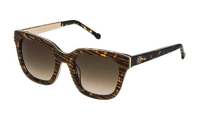Loewe SLW974M5109YC, Gafas de sol para Mujer, Streaked ...
