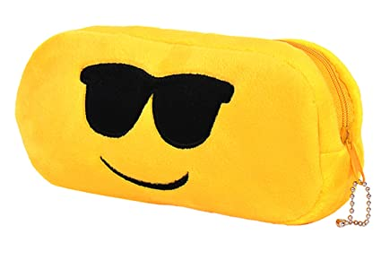 Amazon Chords Cool Dude Emoji Pencil Pouch For Teenagers In