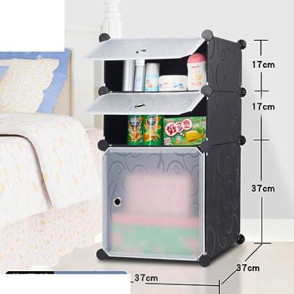 Coreano semplice combinazione comodino,Semplice camera da letto ...
