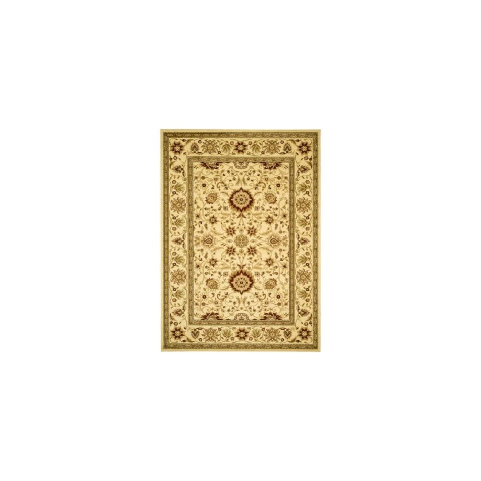Safavieh Lyndhurst Collection LNH212L Traditional Oriental Ivory Round Area Rug (8 Diameter)