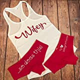 Custom Wifey Tank and Panites Set