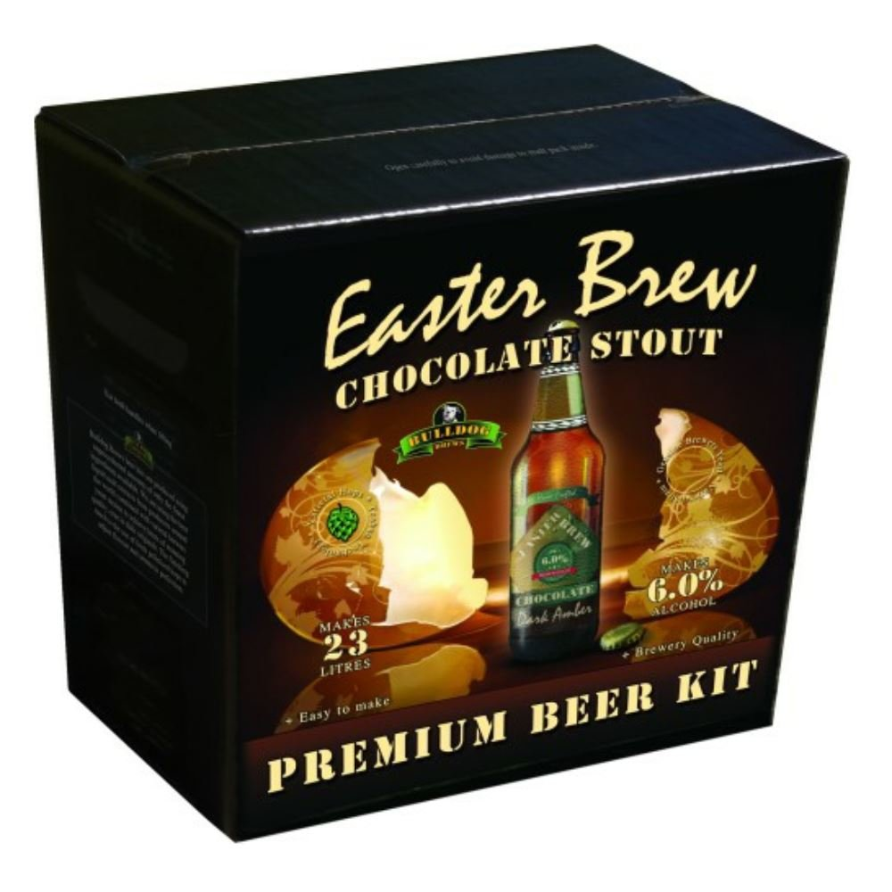 Bulldog Brews Easter Brew Chocolate Stout Hambleton Bard