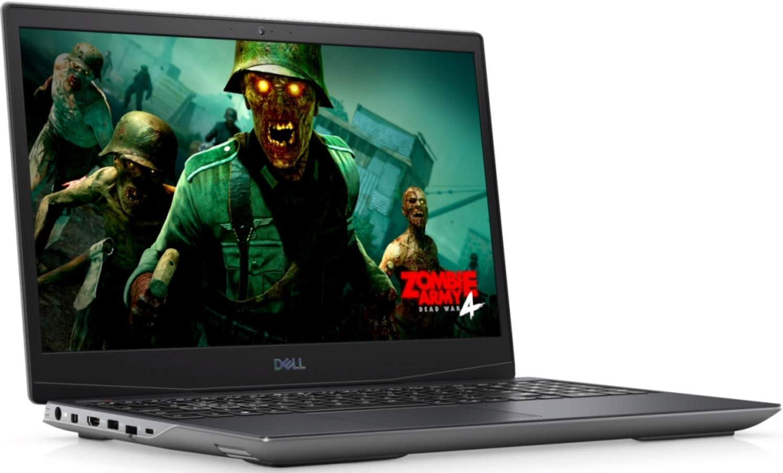 "Newest Dell G5 SE 5505 15.6"" FHD IPS High Performance Gaming Laptop, AMD 4th Gen Ryzen 5 4600H 6-core, 8GB RAM, 256GB PCIe SSD, Backlit Keyboard, AMD Radeon RX 5600M, Windows 10:"