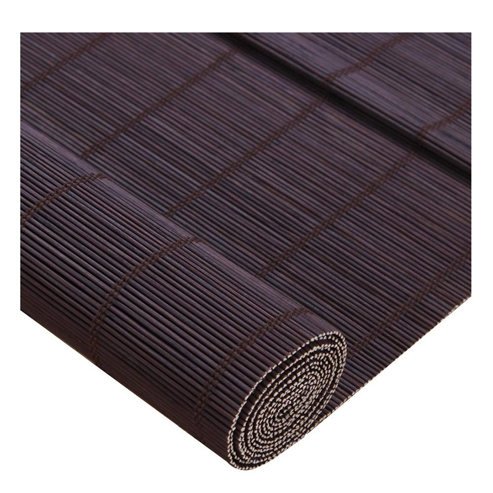 ZEMIN 竹 ウッドブラインド ローラー ローマの カーテン 半遮光 屋内 保護、 2色、 複数のサイズ カスタマイズすることができます (色 : B, サイズ さいず : 160x225cm) 160x225cm B B07Q4CN7Y3