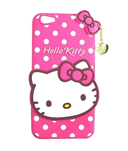 582eb9780 Qzey Girls Back Cover Hello Kitty Silicon With Pendent: Amazon.in:  Electronics