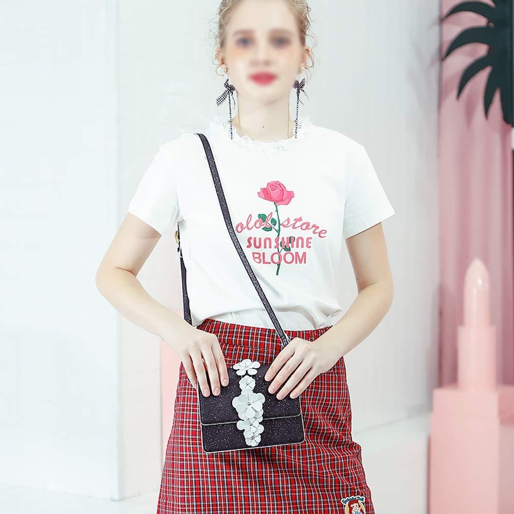 Color : A XF Hong Tai Yang Ladies Fashion Wild Diagonal Versatile White Minimalist Sen Bag Small Fresh Girl Bag