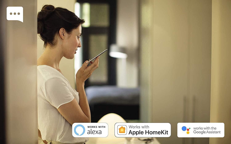Compatible avec Alexa Philips Hue Bande Lumineuse ext/érieure Blanc et Couleur Ambiance 5m Bluetooth Philips Hue Pont de Connexion