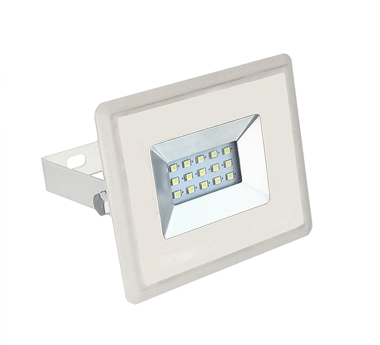 V-TAC VT-4011 10W LED A+ Blanco Proyector - Proyectores (10 W, LED ...