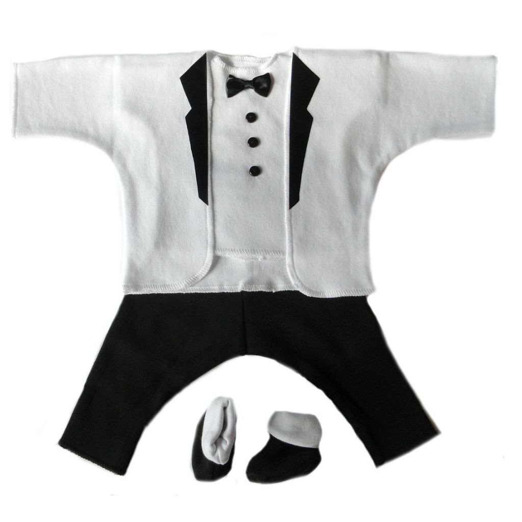 Jacqui's Baby Boys' After Five 100% Cotton Tuxedo Suit