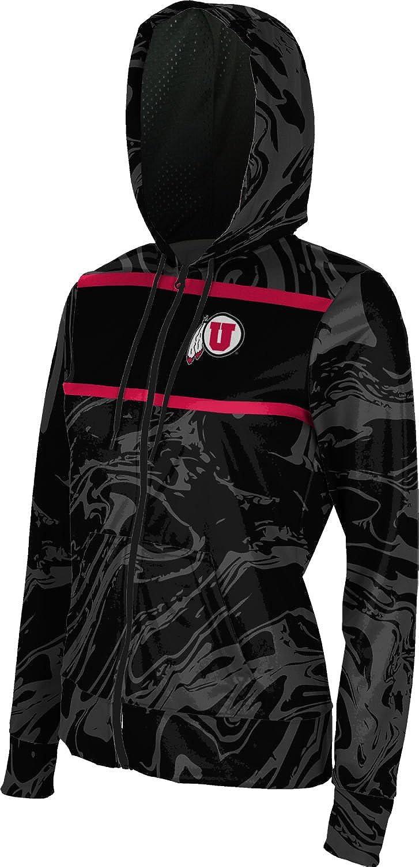 School Spirit Sweatshirt Ripple ProSphere University of Utah Girls Zipper Hoodie