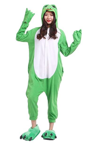 Unisex Pijamas para Adultos Cosplay Animales de Vestuario Rana